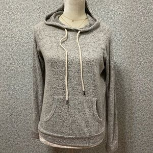 ❤️Ambiance Gray Black Pocket Soft Hoodie S❤️